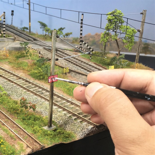 Detailing an Indian Railway OHE Pole