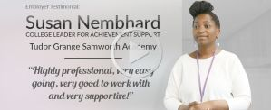 Susan Nembhard - Tudor Grange Samworth Academy - Benefits of Training Teaching Assistants