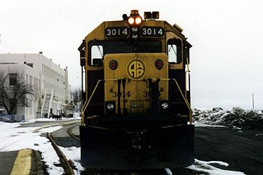 Gp40 3014 At Anchorage Station