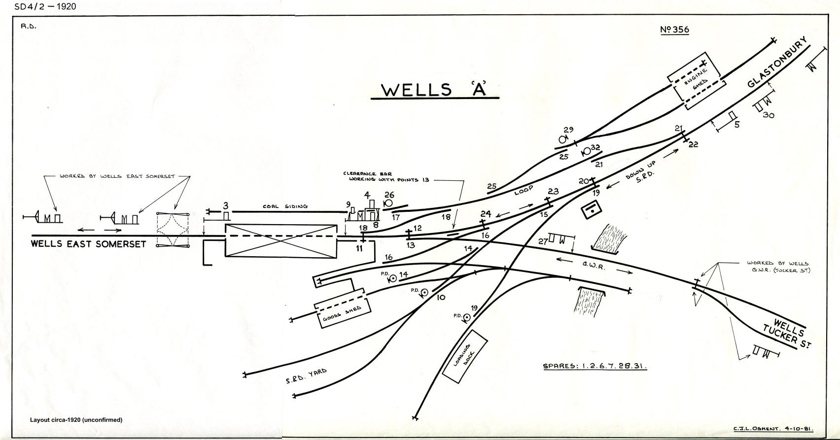Wells A Signal Diagram Circa