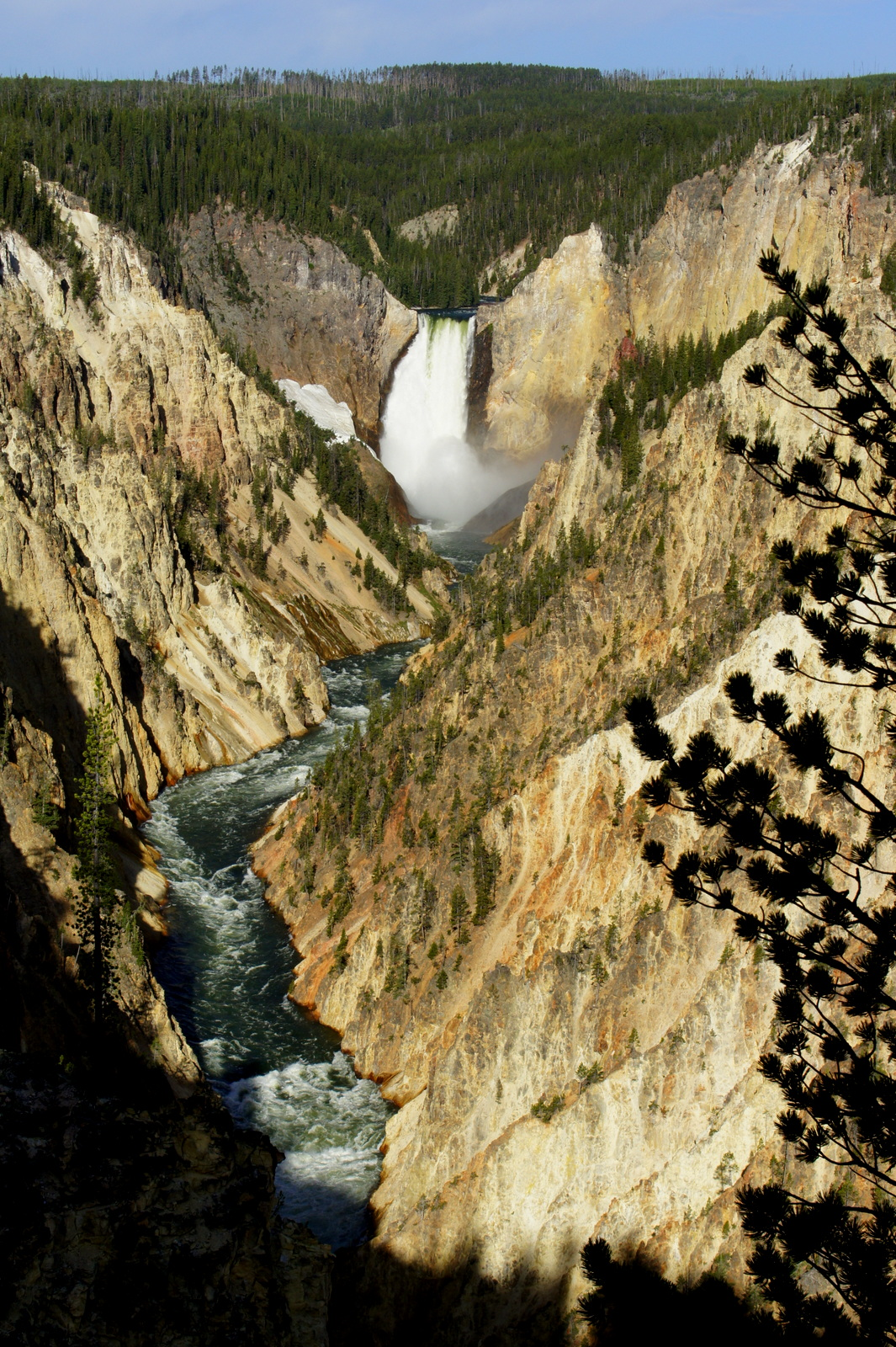 The aptly named Grand Canyon of Yellowstone. Amazing just like its counterpart to the south.