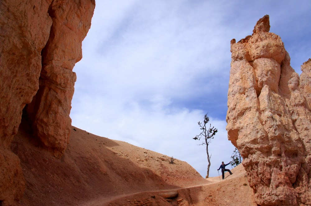 Fairyland Loop in Bryce Canyon.