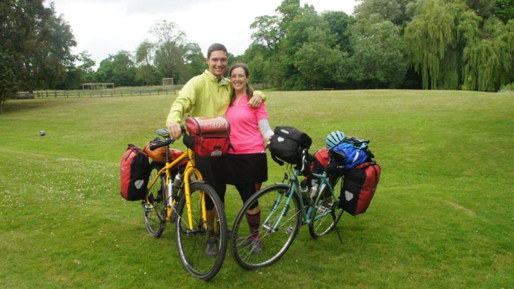 Bike touring England