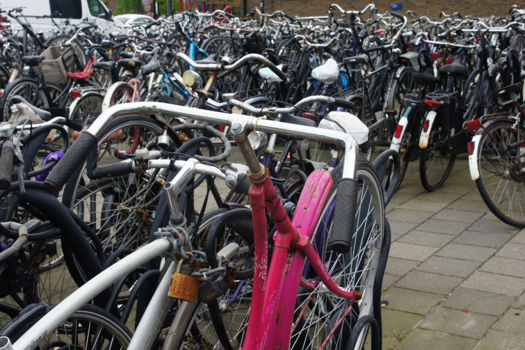 Bike parking in Holland
