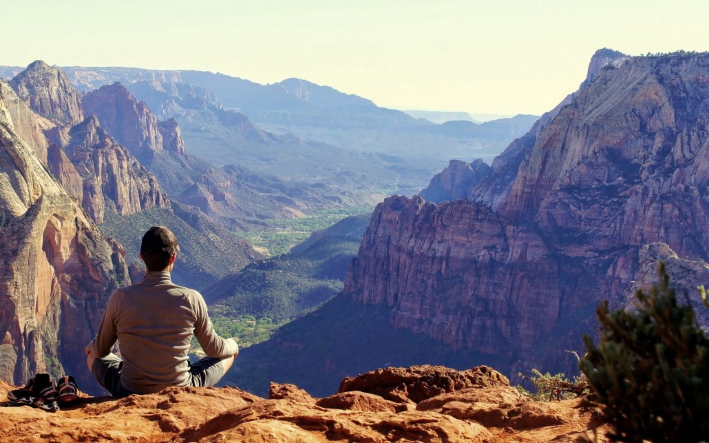 Observation Point in Zion National Park.