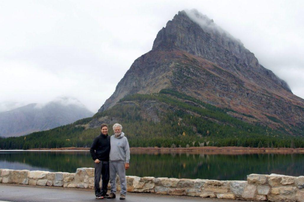 Exploring the east side of Glacier National Park.