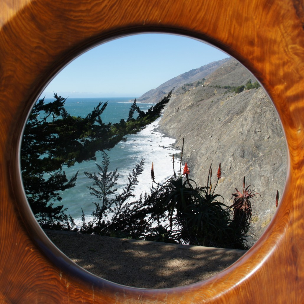 A framed Big Sur.