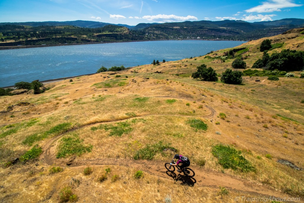 A great day on the trails of the Columbia Gorge. Photo: Scott Rokis.