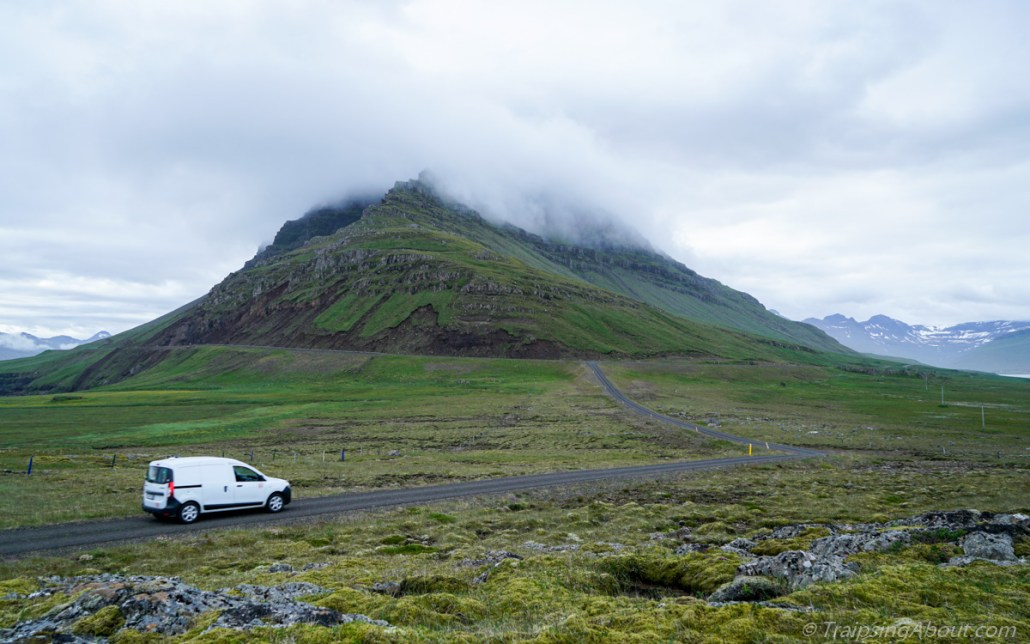 Open roads in the east fjords.