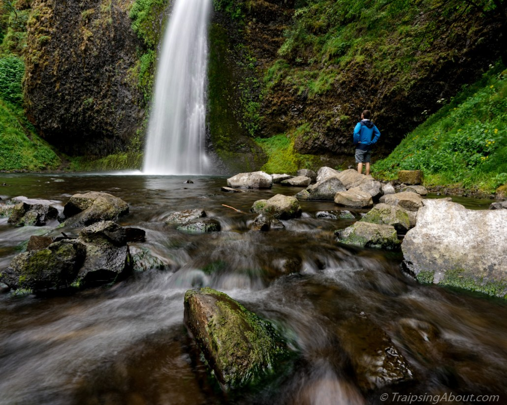 Pffft, who wants to see a picture of a vent fan? Here's a waterfall in Oregon instead.