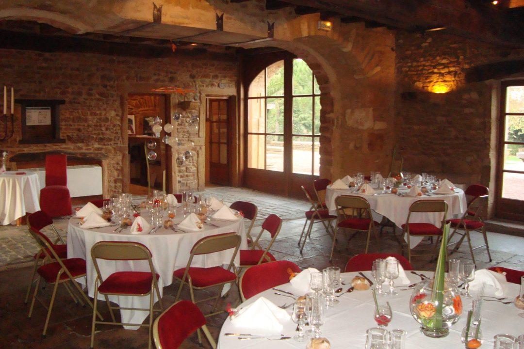 salle de mariage rustique