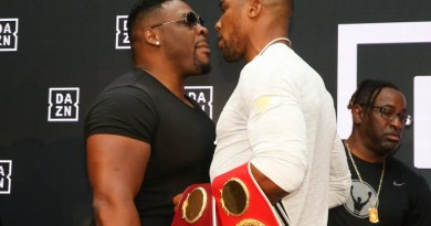 Anthony Joshua's next opponent is Jarrell Miller & the bout will go down on June 1st in New York