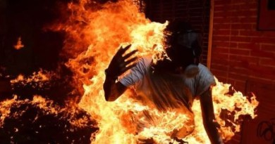 Man survives after setting himself ablaze in Germany during protest against Turkey's detention of militant leader, Abdullah Ocalan
