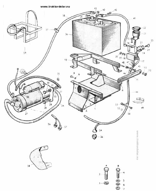 ford 2600 tractor wiring harness