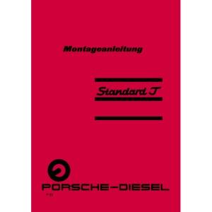 Porsche-Diesel Traktor Montageanleitung Standard-J