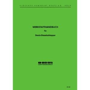 Werkstatthandbuch Deutz Traktoren D8005