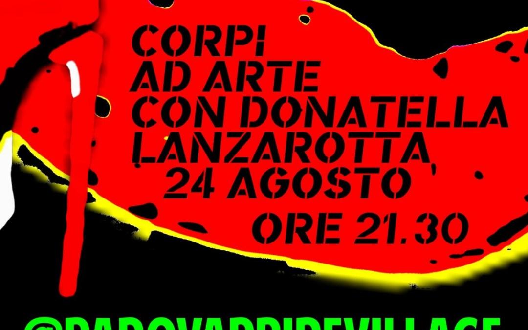 """""""CORPI AD ARTE"""" CON DONATELLA LANZAROTTA"""