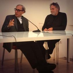 Francesco Messina con Franco Battiato