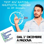 TEST HIV PADOVA ARCIGAY PROTEST