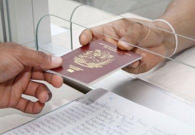 Gaceta Oficial: Pasaportes que están por vencer serán prorrogados por dos años más