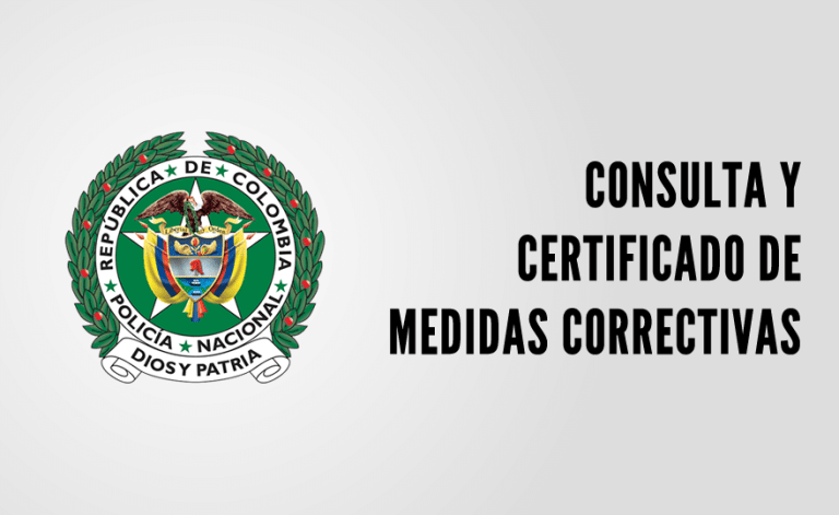 Consultar y expedir el certificado de medidas correctivas por internet