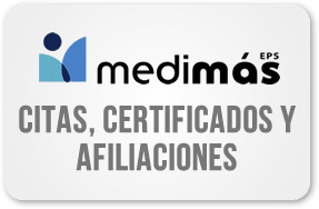 Medimás EPS, aprenda como afiliarse, generar sus certificados y agendar citas por internet
