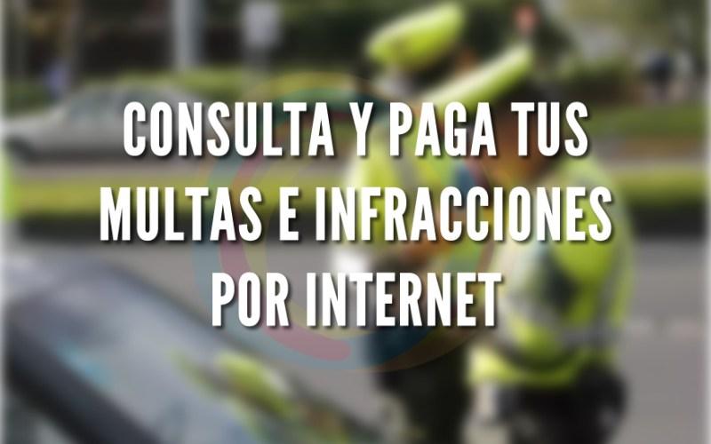 Consulta y paga tus multas por internet en Colombia