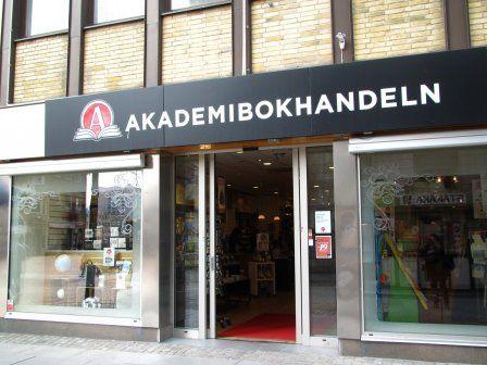 Jedna z księgarni należących do największej szwedzkiej sieci.