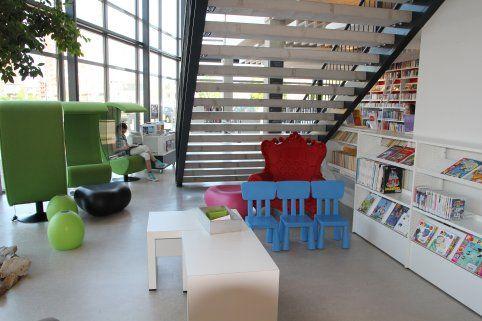 Miejsce dla dzieci w bibliotece