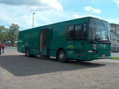 Autobus biblioteka w Tuusuli