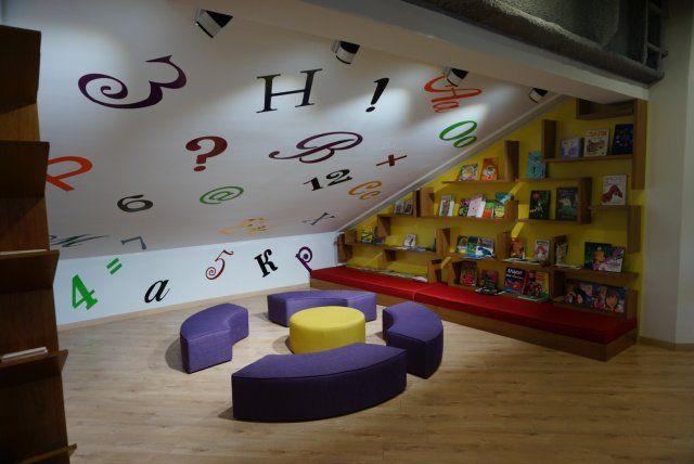 """Specjalna przestrzeń dla dzieci w księgarni """"Pióro"""""""