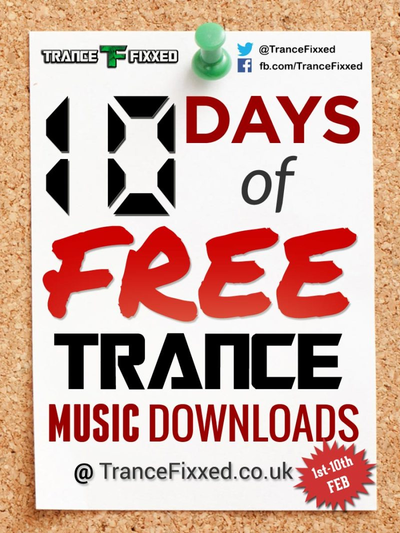10 Days of Free Trance Music Downloads