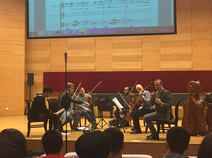 Workshop - Kreutzers with Hao Ting Tian and George Holloway