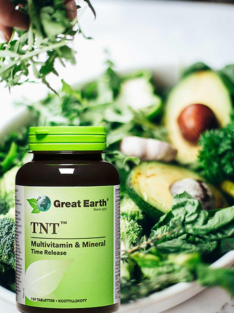 bra vitaminer och mineraler