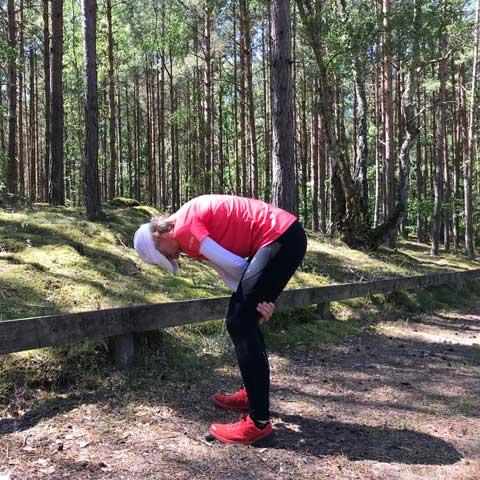 stretchövning ryggen