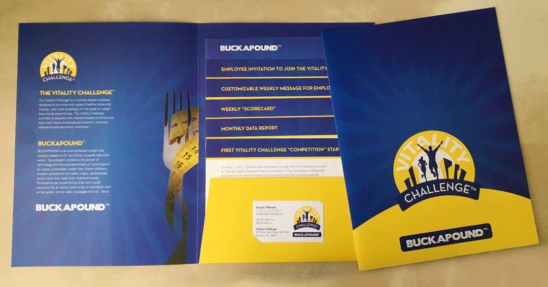Vitality Challenge brochure