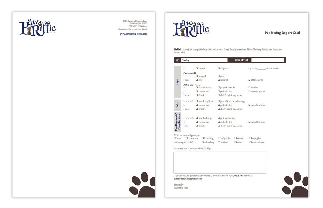 Paw-Riffic Pets Stationery