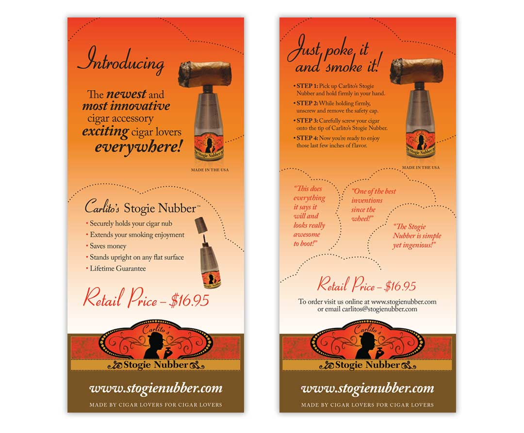 stogie rack card