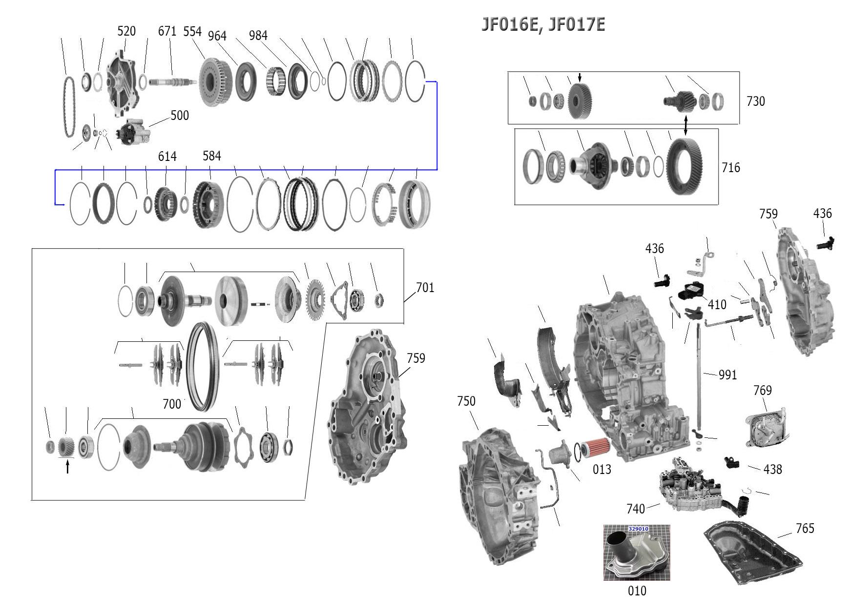 Jatco Jf011e | Wiring Diagram Database