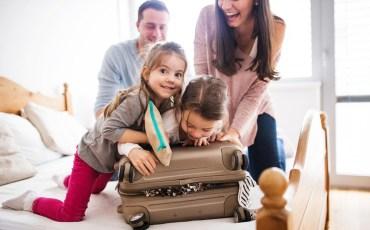 viagens com filhos pequenos