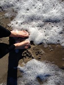 ocean toes