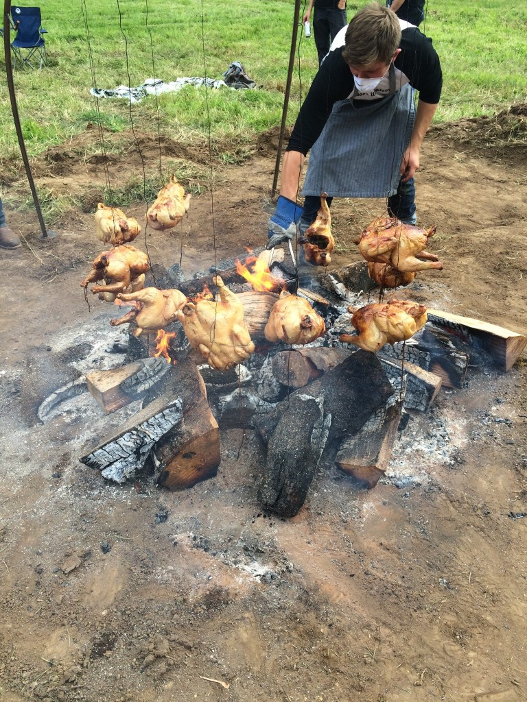 Local pasture raised chicken
