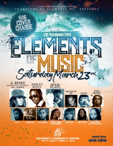 Elements of Music Flyer