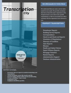 Transcription City Property Services 1