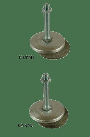 Anti-Vibration-Mounting Type K1/KN1 & Type K2/KN2
