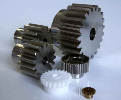 Metric Spur Gears in Steel 0.7 MOD