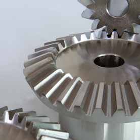 Imperial Bevel Gear in Steel Sets 2:1 Ratio 12DP