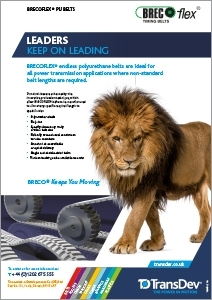 BRECOflex Belts Leaflet