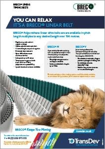 BRECO Linear Belts Leaflet