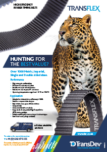 Transflex Rubber Belts Leaflet